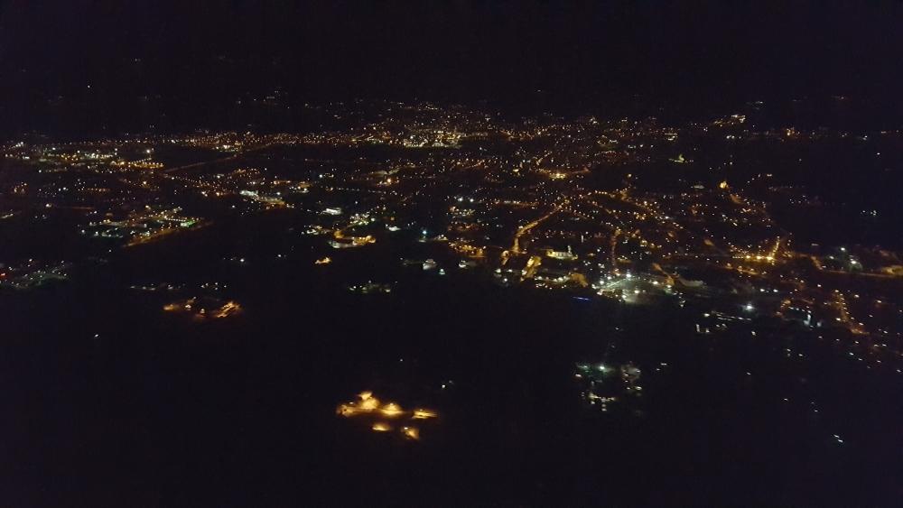Бергамо ночью