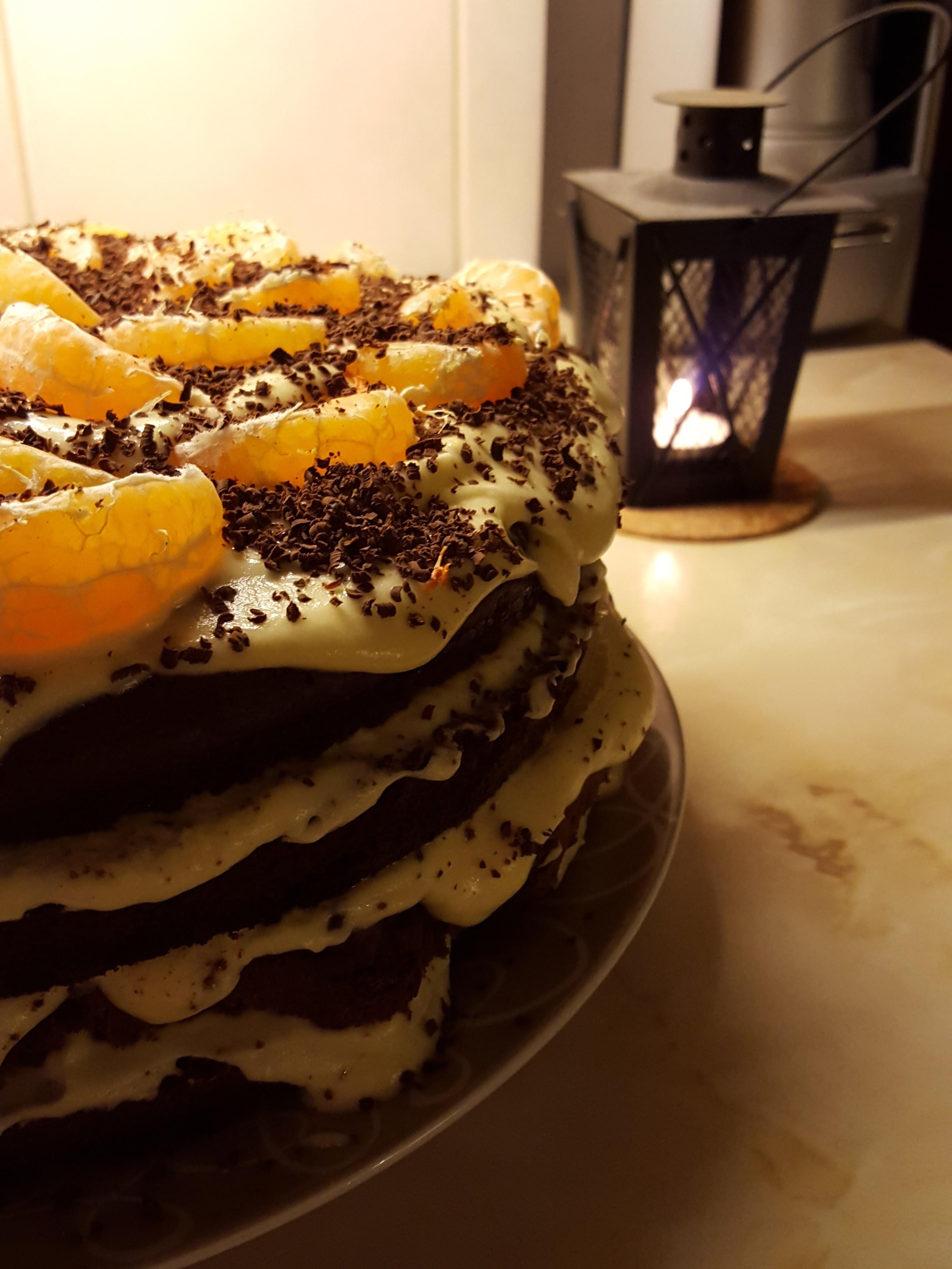 naked - Шоколадный торт Naked