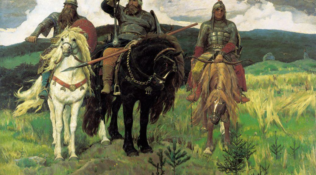 Die drei Bogatyr 1038x576 - Муки литераторства, или Дочь журналиста