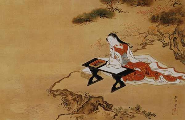 1352749716 1716 1750 kawamata tsunemasa parodie de murasaki shikibu couleurs sur papier 349 x 531 cm - И было утро, и был вечер. День третий